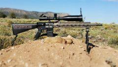 223 Prairie Dog Hunt with Custom AR15