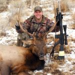 Eric Verwoest with his Eastern Oregon Elk