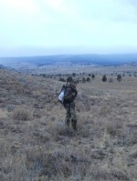 An end to a successful Elk hunt.