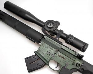 Franklin Armory F17-L with Hawke Optics Sidewinder Scope