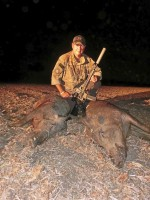 Two Boars down with the 6.8SPC!