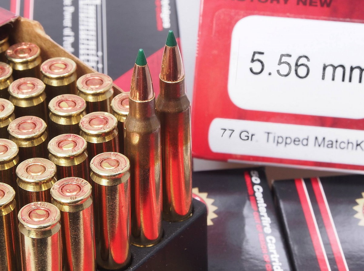 Black Hills Starts Shipping New 5.56mm 77gr Sierra TMK Loads
