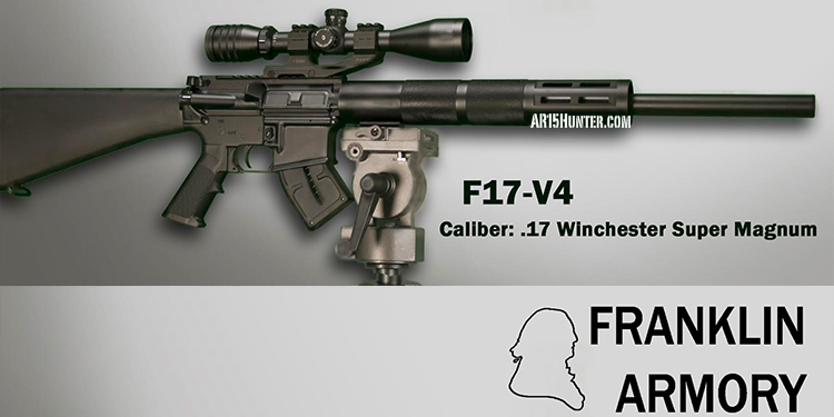 Franklin Armory Releases F17-V4 – 17WSM – $1499 MSRP