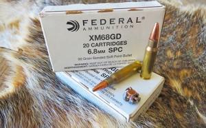 Hunt Report – FEDERAL 6.8SPC 90gr GOLD DOT Ammo