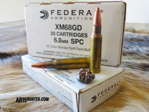 Federal 6.8 SPC - 90 grain Gold Dot ammo