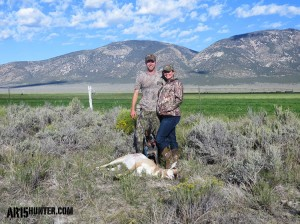 The Author and his wife with her 2014 Antelope