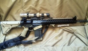 Eric's AR-10 Rifle Ready for the Hunt!
