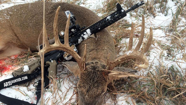 Deer Hunting – Take a Friend and His AR-10