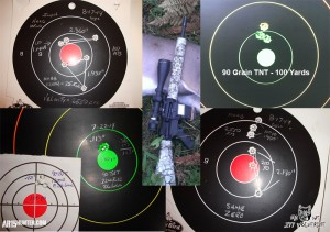 Misc Targets using the .277 Wolverine and Various Bullets