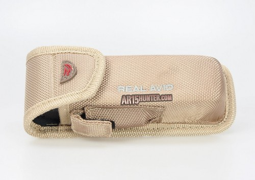 The included storage pouch that holds the Gun Tool Pro - AR15 system