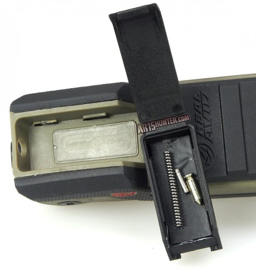 The magnetic compartment included on the Gun Tool Pro - AR15