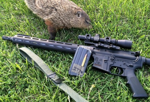 A shot from out in the field with the CMC Trigger and our .277 Wolverine upper.