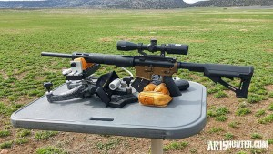 The Franklin Armory F17 in 17WSM - AR15 Build