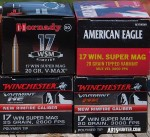 17 Winchester Super Magnum Ammunition Now Readily Available!