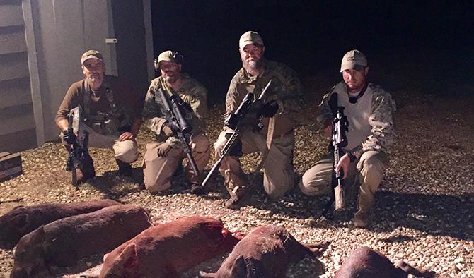 Night Vision Pig Hunting Training with Wild River Ranch and Ironworks Tactical