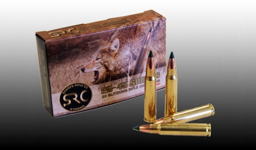 SRC Arms is now Offering the 70 Grain Sierra BlitzKing in Factory Ammo for the 25-45 Sharps