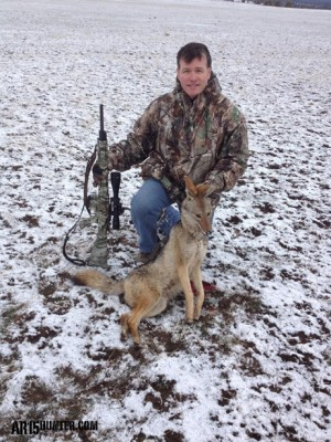 The author with a nice NorCal Coyote!