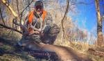 Giant Nebraska Buck Taken with an AR15 in 6.8 SPC