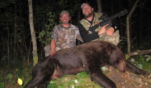 Hunting MN Black Bear with an AR15 Pistol in 300 Blackout