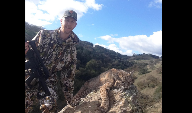 Hunting California Bobcat with my AR15