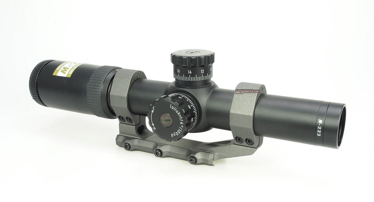 Nikon M-223 1.5-6×24 BDC 600 Rifle Scope Review