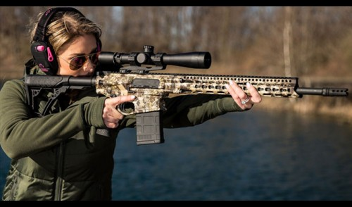 New Daniel Defense Ambush 308 Rifle in Kryptec Highlander