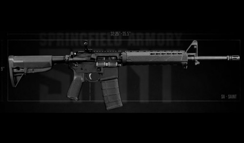 Springfield Armory Announces the SAINT Personal Defense Rifle