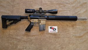 Review of The Garrow Firearms Development 17HMR AR15
