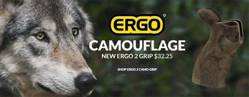 ERGO Introduces New ERGO 2 AR Camouflage Grip